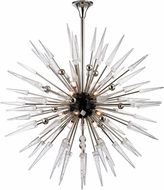 Hudson Valley 9048-PN Sparta Modern Polished Nickel Chandelier Light