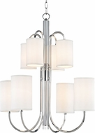 Hudson Valley 9108-PN Junius Polished Nickel Hanging Chandelier
