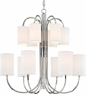 Hudson Valley 9112-PN Junius Polished Nickel Chandelier Lighting