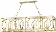 Hudson Valley 9246-GL Octavio Contemporary Gold Leaf Kitchen Island Lighting