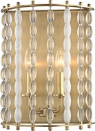 Hudson Valley 9300-AGB Whitestone Modern Aged Brass Lighting Wall Sconce