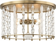 Hudson Valley 9304-AGB Whitestone Modern Aged Brass Ceiling Lighting