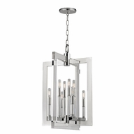 Hudson Valley 9323-PN Wellington Contemporary Polished Nickel 23  Wide Foyer Lighting