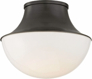 Hudson Valley 9411-OB Lettie Contemporary Old Bronze LED 10.75  Ceiling Lighting Fixture