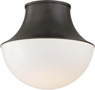 Hudson Valley 9415-OB Lettie Modern Old Bronze LED 14.75  Flush Mount Lighting