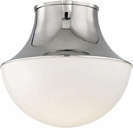 Hudson Valley 9415-PN Lettie Contemporary Polished Nickel LED 14.75 Overhead Lighting