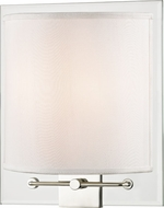 Hudson Valley 9510-PN Peoria Modern Polished Nickel Wall Mounted Lamp