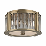 Hudson Valley 9513-AGB Hartland Aged Brass Overhead Lighting Fixture
