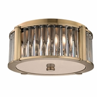 Hudson Valley 9515-AGB Hartland Aged Brass Ceiling Light Fixture