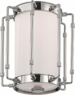 Hudson Valley 9709-PN Hyde Park Modern Polished Nickel LED Flush Mount Light Fixture