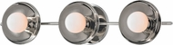 Hudson Valley 9803-PN Julien Modern Polished Nickel LED 3-Light Vanity Lighting