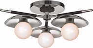 Hudson Valley 9823-PN Julien Modern Polished Nickel LED Overhead Light Fixture
