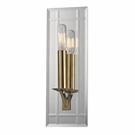 Hudson Valley 990-AGB Austin Aged Brass Finish 4.75  Wide Lighting Wall Sconce