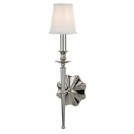 Hudson Valley 9921-PN Ellery Polished Nickel Finish 21  Tall Wall Sconce Light
