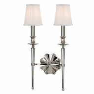 Hudson Valley 9922-PN Ellery Polished Nickel Finish 21  Tall Sconce Lighting