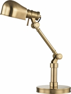 Hudson Valley L394-AGB Laconia Aged Brass Desk Lamp