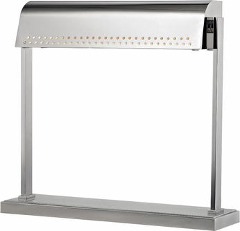 Hudson Valley L811-PN Garfield Modern Polished Nickel LED Desktop Lamp