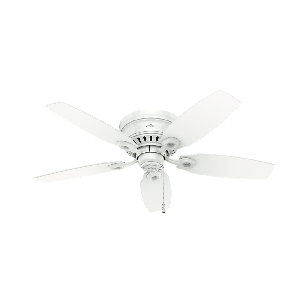 Hunter 52087 Hatherton Snow White 46 Quot Home Ceiling Fan