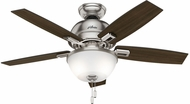 Hunter 52227 Donegan Bowl Light Dark Walnut / Distressed Oak LED 44  Home Ceiling Fan