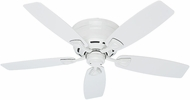 Hunter 53119 Sea Wind White Indoor / Outdoor 48  Home Ceiling Fan