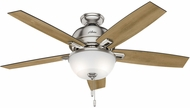 Hunter 53335 Donegan Bowl Light Distressed Oak / Dark Walnut LED 52  Home Ceiling Fan