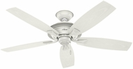 Hunter 53346 Rainsford Fresh White Outdoor 52  Home Ceiling Fan