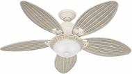 Hunter 54094 Caribbean Breeze Cream 54  Ceiling Fan