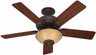 Hunter 59033 Westover Walnut / Cherry 52  Home Ceiling Fan