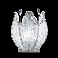 James Moder 40081S22 Florian Crystal Silver Wall Lamp