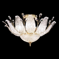 James Moder 40084G22 Florian Crystal Gold Ceiling Lighting