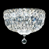 James Moder 40210S22 Crystal Silver Ceiling Light Fixture