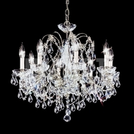 James Moder 40288S22 Regalia Crystal Silver Chandelier Light