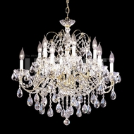 James Moder 40290G22 Regalia Crystal Gold Ceiling Chandelier