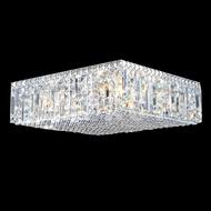James Moder 40345S22 Silver Flush Lighting