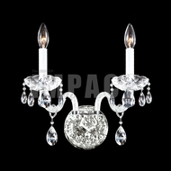 James Moder 40462S22 Place Ice Crystal Silver Lighting Sconce