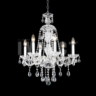 James Moder 40466S22 Place Ice Crystal Silver Chandelier Lamp