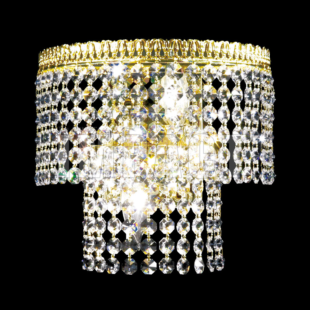 moder lighting. James Moder 40534G22 Imperial Crystal Gold Lighting Wall Sconce. Loading Zoom O