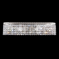 James Moder 40536S22 Imperial Crystal Silver Bathroom Lighting