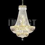 James Moder 40544G22 Imperial Crystal Gold Chandelier Lighting