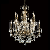 James Moder 40619MB2GT Brindisi Crystal Monaco Bronze Chandelier Lamp