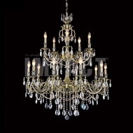James Moder 40620MB22 Brindisi Crystal Monaco Bronze Ceiling Chandelier