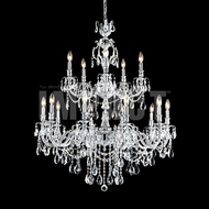 James Moder 40620S22 Brindisi Crystal Silver Chandelier Light
