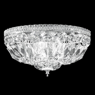 James Moder 40652S22 Crystal Silver Overhead Light Fixture