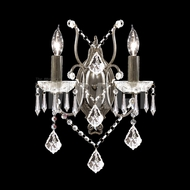 James Moder 40672BZ22 Charleston Crystal Bronze Wall Light Sconce