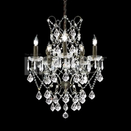 James Moder 40675BZ22 Charleston Crystal Bronze Hanging Chandelier
