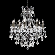 James Moder 40678BZ22 Charleston Crystal Bronze Chandelier Light