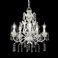 James Moder 40685W22 White Mini Hanging Chandelier