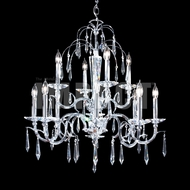 James Moder 40709S22 Silver Hanging Chandelier