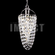 James Moder 40711S22 Silver Hanging Light