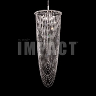 James Moder 40718S2JA Silver Lighting Chandelier